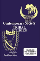 Contemporary Society: Tribal Studies : Professor Satya