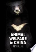 Animal Welfare in China Book