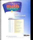 Houghton Mifflin Math Central Book