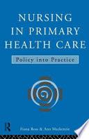 Nursing In Primary Health Care