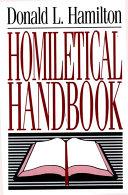 Homiletical Handbook Pdf/ePub eBook