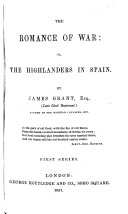The Romance of War ... First series. (Second series.)