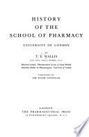 History of the School of Pharmacy