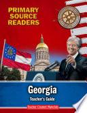 Primary Source Readers  Georgia Teacher s Guide