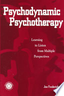 Cover of Psychodynamic Psychotherapy