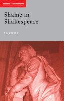 Pdf Shame in Shakespeare