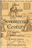 The Crisis of the Seventeenth Century
