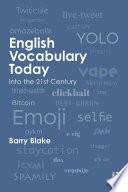 English Vocabulary Today Book