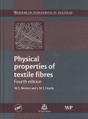 Physical Properties of Textile Fibres  Fourth Edition