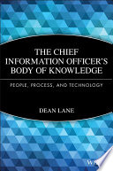 The Chief Information Officer S Body Of Knowledge Book PDF