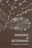 Books - Maboko a Setswana   ISBN 9780627001192