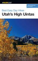 Best Easy Day Hikes Utah's High Uintas ebook