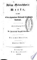 Philipp Melanchthon's Werke