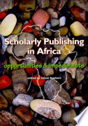 Scholarly Publishing In Africa Book PDF