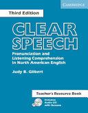 Clear Speech Teacher's Resource Book