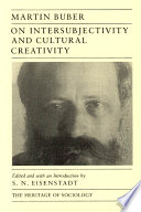 On Intersubjectivity and Cultural Creativity Book