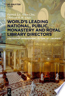 World   s Leading National  Public  Monastery and Royal Library Directors