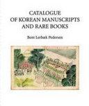Catalogue of Korean Manuscripts and Rare Books