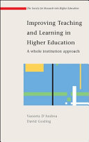 Improving Teaching And Learning In Higher Education  A Whole Institution Approach