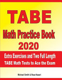 TABE Math Practice Book 2020