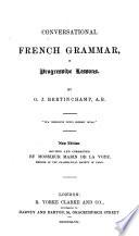 Conversational French grammar Book