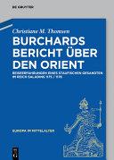 Burchards Bericht über den Orient