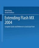 Extending Flash MX 2004