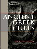 Ancient Greek Cults Pdf/ePub eBook