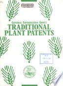 General Information about Traditional Plant Patents