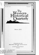 The Western Historical Quarterly
