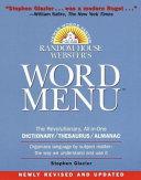 Random House Webster s Word Menu