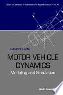 Motor Vehicle Dynamics