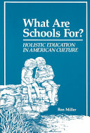 What are Schools For?