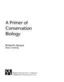 A Primer of Conservation Biology