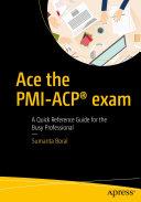 Pdf Ace the PMI-ACP® exam Telecharger