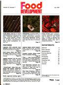 Food Development Book