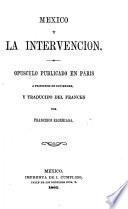 Mexico Y la Intervencion