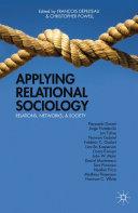 Applying Relational Sociology Pdf/ePub eBook