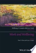 Wellbeing  A Complete Reference Guide  Work and Wellbeing Book PDF