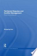 Territorial Disputes And Conflict Management Book PDF