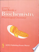 """Text Book of Biochemistry"" by Dr. G. R. Agarwal, Dr. O. P. Agarwal, Dr. (Mrs) Kiran Agarwal"