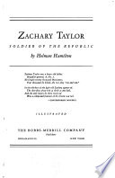 Zachary Taylor, Soldier of the Republic