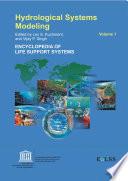 Hydrological Systems Modeling   Volume I