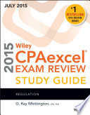 Wiley CPAexcel Exam Review 2015 Study Guide July Book