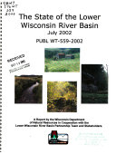 The State of the Lower Wisconsin River Basin