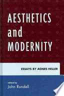 Aesthetics and Modernity