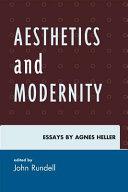 Aesthetics and Modernity ebook