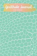 Gratitude Journal for Women Book