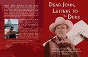 Dear John  Letters to the Duke Book