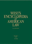 West S Encyclopedia Of American Law